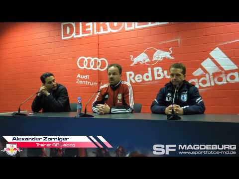 Video: Pressekonferenz - RB Leipzig gegen 1. FC Magdeburg 4:0 (2:0)
