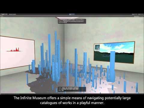 Infinite Museum - a virtual exhibition in UNITY 3d