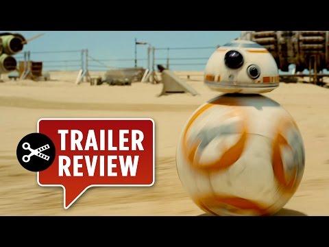 Instant Trailer Review: Star Wars Episode VII: The Force Awakens Teaser - J.J. Abrams Movie HD thumbnail