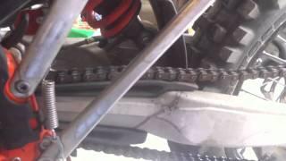 4. 2011 KTM 250 XCF-W 6 days
