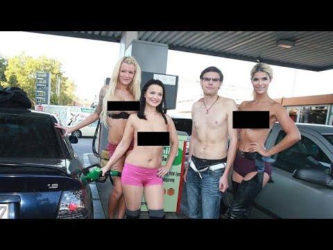 Spritzige Werbeaktion für die VENUS! Erotik Models ...