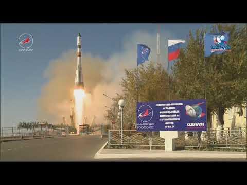Lancment du Progress MS 07 le 14 octobre © Roscosmos