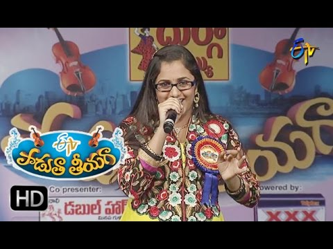 Ninnu-Kori-Varanam--Priya-Performance-in-ETV-Padutha-Theeyaga--11th-April-2016