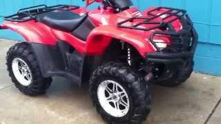3. 2009 Honda Rancher 420 4x4 automatic
