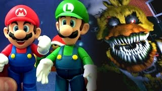 Super Mario PLAYS FIVE NIGHTS AT FREDDY'S (Movie)