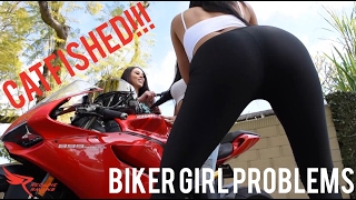 The struggles of staying fresh underneath that helmet is real...Tag someone you know who's been catfished or comment below if it's happened to you! LOLBiker Girl: @mizzielFriend #1: @annettecarrionFriend #2: ms_keeratiDate: @2jpantojaVideographer: @raul_2015r1