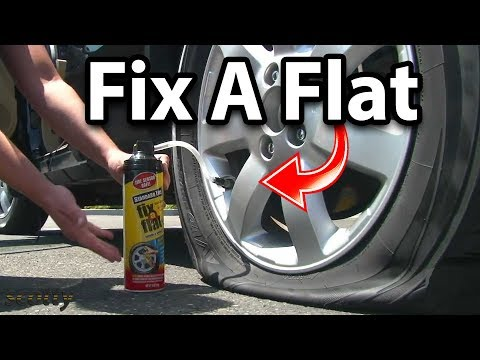 Video Fix-a-Flat Tire Sealant - How To Repair a Flat Tire download in MP3, 3GP, MP4, WEBM, AVI, FLV January 2017