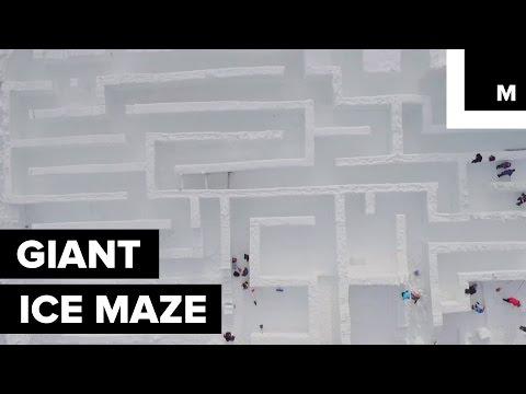 Polsko se může pochlubit největším ledovým bludištěm na světě!