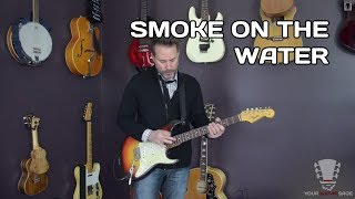 How to play Smoke On The Water - Guitar Lesson