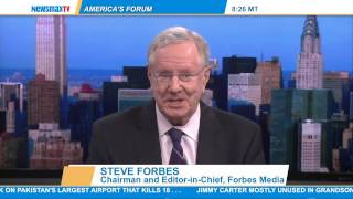 Steve Forbes, Chairman and Editor-in-Chief of  Forbes Media,