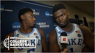 Zion Williamson: Duke doesn't want any 'what ifs' after NCAA tournament | College Basketball Sound