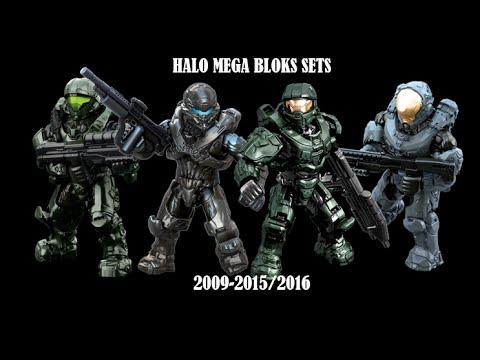 Halo Mega Bloks Sets 2009-2016