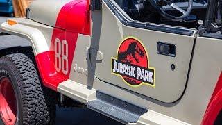 Jurassic Park Jeep Conversion Project