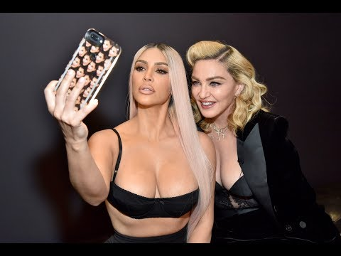 Madonna and Kim K Reveal Their Secret Past #MDNAmeetsKKW - PART 1