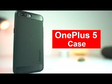 Best Case for Oneplus 5 Spigen Rugged Armor Case