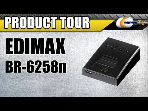 Newegg TV: EDIMAX BR-6258n Wireless Broadband Nano Router Product Tour