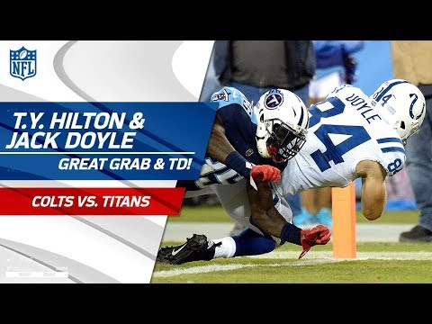 Video: T.Y. Hilton's Nice Grab Sets Up Jack Doyle's Catch-'n-Run TD! | Colts vs. Titans | NFL Wk 6