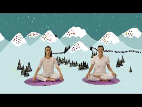 """YOGIC / Yoga para niños - Cápsula """"La Locomotora Valiente"""" - Juegos y canciones infantiles"""
