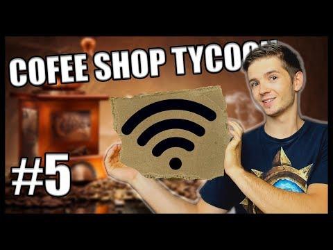 MÁME WIFINU!! - Coffee Shop Tycoon #5