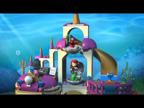 Конструктор Подводный дворец Ариэль - LEGO DISNEY PRINCESS - фото № 4