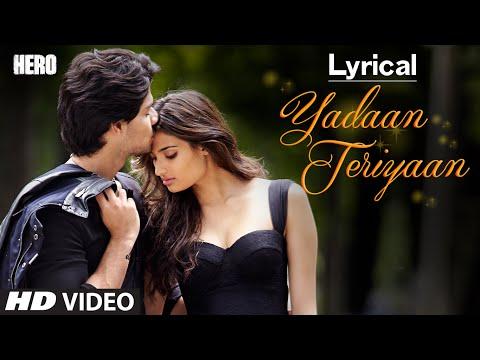 Yadaan Teriyaan Full Song with LYRICS - Rahat Fate