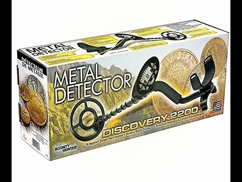 got a new metal detector by bounty hunter discovery 2200 + new gear