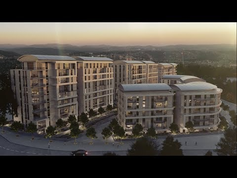 Foreign Ministry Quarter in Jerusalem | 3D Architectural Visualization