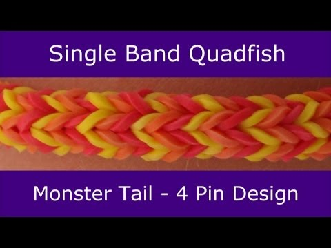 Monster Tail® Single Band Quadfish Bracelet