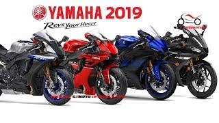 7. All New Yamaha R Series Model 2019   New Yamaha Supersport Motorcycles 2019