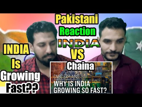 Pakistani Reacts On | Why is India growing so fast? | CNBC Explains Reactions 2018!!