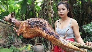 Video Yummy cooking BBQ goat recipe - Cooking skill MP3, 3GP, MP4, WEBM, AVI, FLV Januari 2019
