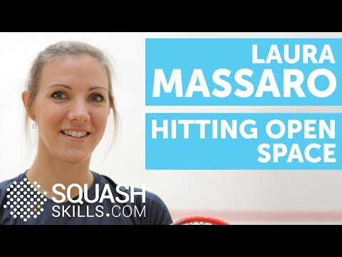 Squash coaching: Hitting open space with Laura Massaro