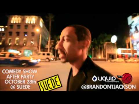 Brandon T Jackson's Official Comedy Show After Party @ Suede