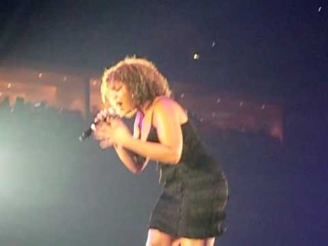 Jordin Sparks Breathe No Air Clip from Britney Spears Circus Tour 1st Row VIP seats