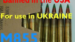 """http://pissinontheroses.blogspot.com/2015/02/us-m855-ammo-ban-foretells-us-weapons.html(c)2015  www.POTRBLOG.comBased on Obama's attempt to disrupt the US commercial supply of  M855  ammunition, we expect that  US / NATO infantry weapons which use M855 ammunition  will soon start flowing into the Ukraine and surrounding former Soviet States.  Ukraine needs NATO caliber rifles as it likely faces a shortage of ammunition for its unique late Soviet era infantry rifle. Last year in that regard, Obama banned the US importation of the Soviet 7N6 5.45x39.5 round in order to shore up in theater Soviet caliber ammo supplies for Ukraine. Since then, Ukraine has had its ammunition factories fall to the Novorussia rebels. And, the supply of Soviet ammo which had been redirected away from US consumers must now be rapidly decreasing. Unfortunately for the Ukraine, only Russia has massive capability to cost effectively supply their unique Soviet rifle ammunition needs. Given that situation, it seems that the time now has come for America to stealthily shore up the supply of NATO military M855 ball ammo in Eastern Europe for use in those M16's we expect to see start showing up in the Ukraine. As such, Obama's likely illegal reclassification of M855 ammo as """"armor piercing"""" will immediately stop all shipments of such ammo departing from European docks to the USA; and thusly quietly shore up needed NATO caliber ammo supplies in Eastern Europe. Obviously if this is the vignette behind the M855 US consumer ammo ban, it seems clear that DoD sees a greater risk of expanded armed conflict in Eastern Europe than is currently being let on, and wants to quietly prepare for such conflict Alternatively its possible that the M855 ban is only driven by Obama's hatred of an armed American populace; in which case, all those M16's won't be showing up in Ukraine any time soon. That said, we expect M855 fed rifles to appear on Russia's borders soon."""