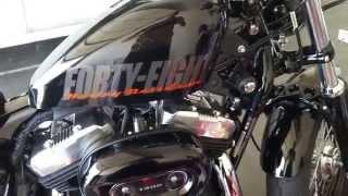 2. 2015 Harley Davidson sportster 48 walk around