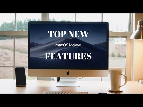 MACOS MOJAVE NEW FEATURES - TOP 10 FEATURES OF MACOS MOJAVE