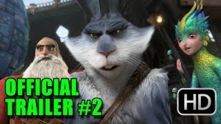 Rise of the Guardians Official Trailer #2 (2012) -  Chris Pine, Hugh Jackman, Jude Law