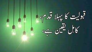 Best quotes on Believe in urdu | believe Quotes | best quotes about believe in Allah | Golden Wordz