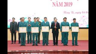 TP Uông Bí: Tổng kết công tác quốc phòng, quân sự địa phương năm 2019