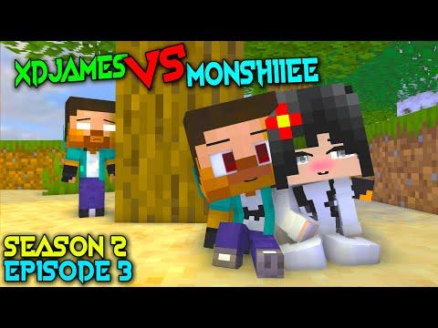 MONSTER SCHOOL: MONSHIIEE VS XDJAMES SEASON 2 EPISODE 3