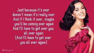 Never Really Over - Katy Perry (Lyrics) 🎵