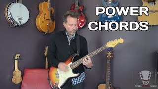 How To Play Guitar Power Chords