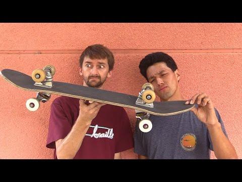 DOUBLE SIDED SKATEBOARD |  STUPID SKATE EP 34