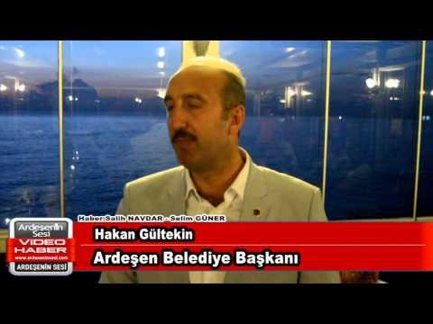 Ardeşen Belediye Başkanı Hakan Gültekin