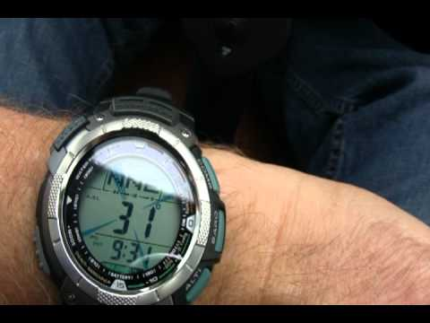 Casio Pathfinder Watch Review While on a World Record Flight