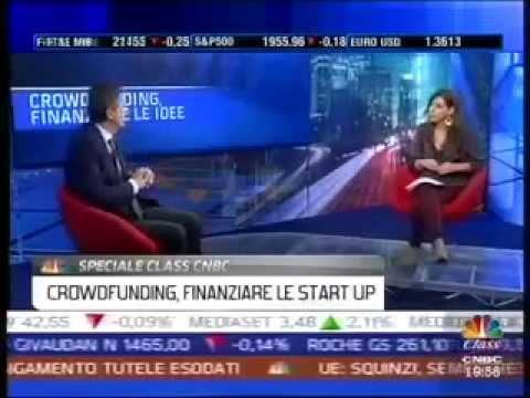 Speciale Class Cnbc sul crowdfunding: intervista a Stefano Venturi