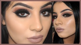 Brown Smokey Eye Makeup Tutorial for Beginners - YouTube
