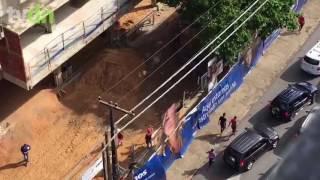O Sindicato da Indústria aponta prejuízo de mais de meio milhão de reais por danos causados nas obras