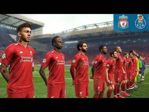 Liverpool Vs Porto - UEFA Champions League 9 April 2019 Gameplay